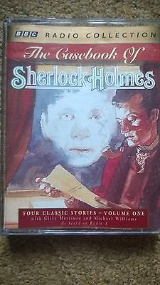 The Casebook Of Sherlock Holmes  Audio Book Story Tapes X 2 Bbc