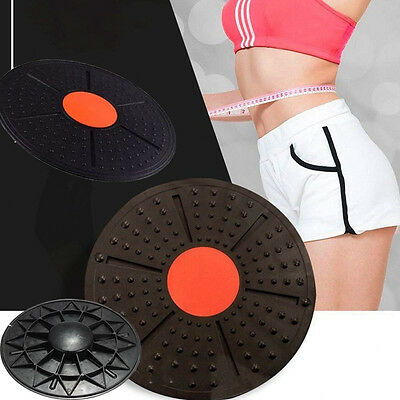 37cm Fitness Exercise Training Balance Board Strengthen Knees Core Shoulders UK