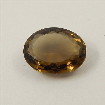 15.6 cts Natural Smoky Quartz Crystal Gemstone Healing Point Faceted P#191-30