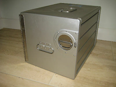 NEW AIRLINE ATLAS BOX Limited Time Only! STORAGE TOOLBOX AIRCRAFT ALUMINIUM