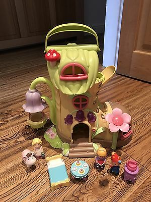 ELC HAPPYLAND FAIRY BOOT WITH FIGURES  & ACCESSORIES + WORKING SOUNDS VGC (read