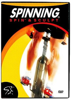 Spinning Spin and Sculpt Indoor Cycling DVD - Multicoloured