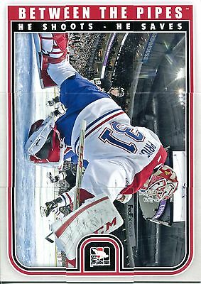 2013-14 ITG Between the Pipes Puzzle Carey Price 9 Teile Montreal Canadiens NHL