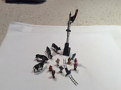 HO scale people and animals