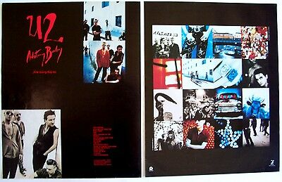 U2 1991 Poster Ad ACHTUNG BABY