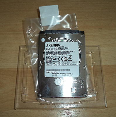 "Toshiba 500GB,Internal,5400 RPM,6.35 cm (2.5"") (MQ01ABF050) SATA Hard Drive"