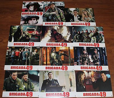 Joaquin Phoenix Ladder 49 lobby card set 12 John Travolta firefighting