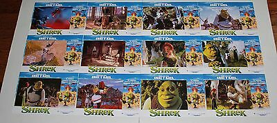Shrek Spanish lobby card set 12 Dreamworks animation princess fairy tale