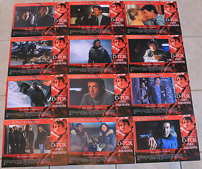 Sylvester Stallone Eye See You Spanish lobby card set 12 Polly Walker D-Tox