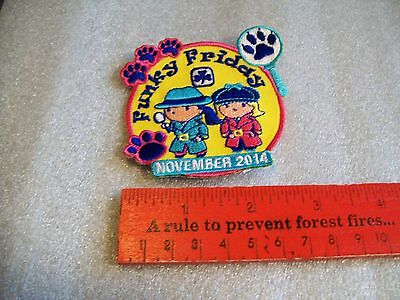 Canadian Girl Guides  Badge/Patch Funky Friday November 2014