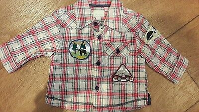 Baby Boys Monsoon shirt 3-6 months Excellent condition