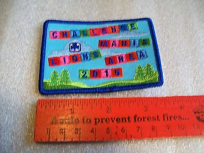 Canadian Girl Guides  Badge/Patch Challenge Mania Lions Area