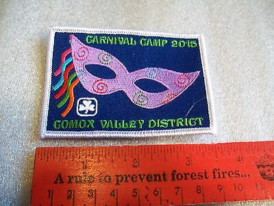Canadian Girl Guides  Badge/Patch Carnival Camp