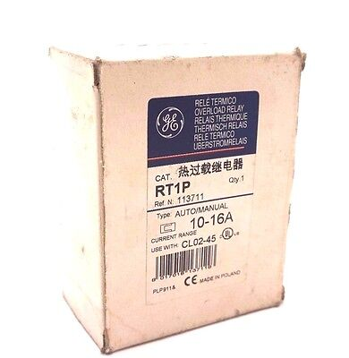New General Electric Rt1P Overload Relay