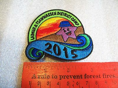 Canadian Girl Guides  Badge/Patch Ladner & Tsawwassen District Camp