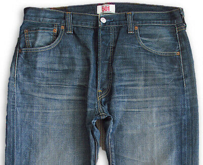 Levis 501 Jeans W35 L30 Straight Fit