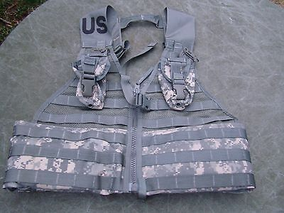 New Molle II Fighting Load Carrier vest Army ACU FLC - with pouches
