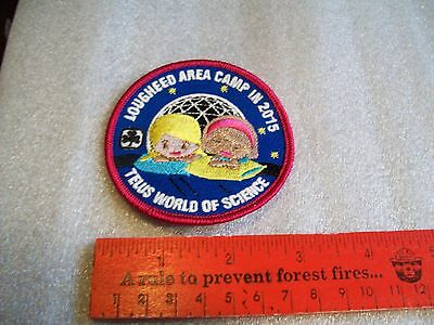 Canadian Girl Guides  Badge/Patch Telus World Of Science