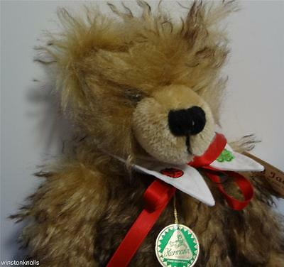 HERMANN LUCKY JACK LONG TIPPED MOHAIR #347 of 500 FULLY TAGGED MADE IN GERMANY