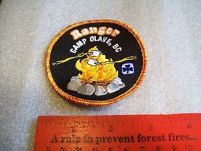 Canadian Girl Guides  Badge/Patch Ranger Camp Olave