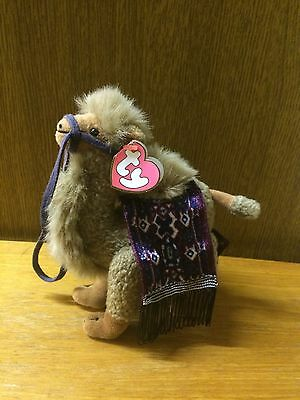 """TY Beanie Baby Lawrence Camel 1993 Original Articulated Legs 8"""""""