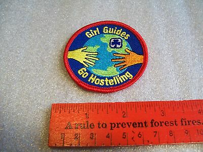 Canadian Girl Guides  Badge/Patch Go Hostelling