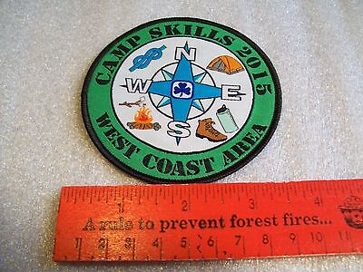 Canadian Girl Guides  Badge/Patch Camp Skills 2015