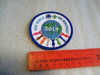 Canadian Girl Guides  Badge/Patch One World One Movement
