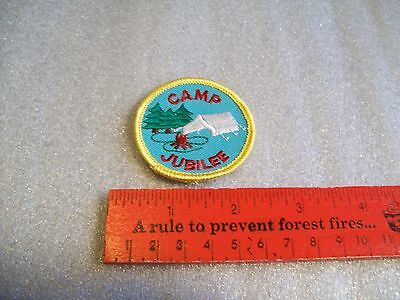 Canadian Girl Guides  Badge/Patch Camp Jubilee