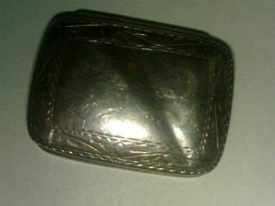 Solid silver pillbox 925 silver 36mm 14,2 g
