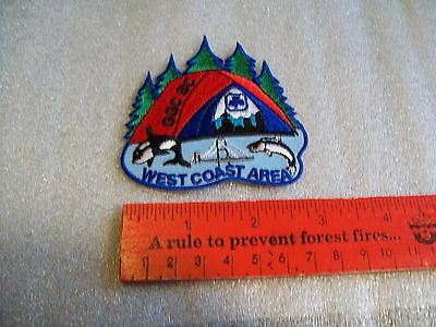 Canadian Girl Guides  Badge/Patch West Coast Area