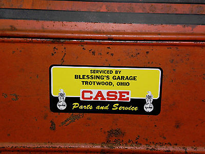 1947  J I Case  Dealer Decal  - Appliable Vinyl Facsimile