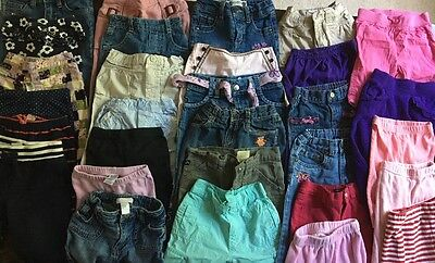 Lot of 26 Baby Toddler Girls' Clothing, Newborn -2 T, Carter's, Old Navy, Gymbor