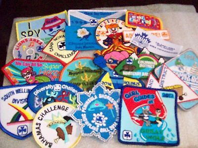 Canadian Girl Guide Badge/Patch 20 Assorted Badges listing a