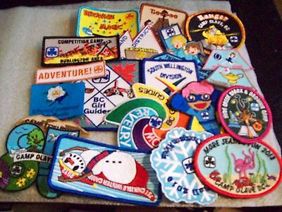 Canadian Girl Guide Badge/Patch 20 Assorted Badges listing b