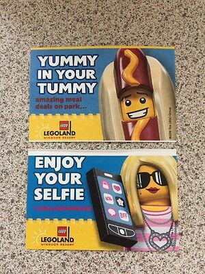 2 Legoland Tickets Valid For 18/07/17