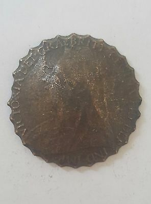 antique coin penny  Victoria 1901 metal detecting finds Unknown