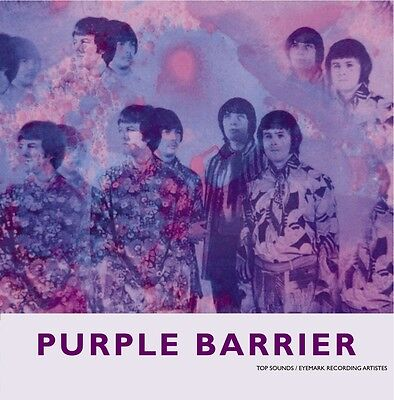 PURPLE BARRIER Shapes And Sounds vinyl PS 45 psych freakbeat