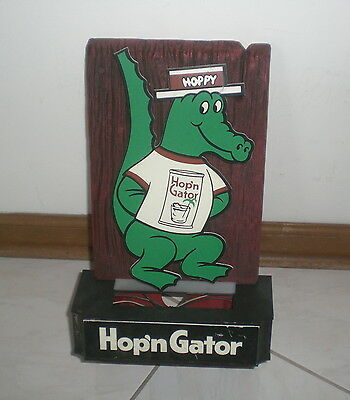 Hop 'n Gator Malt Liquor Electric Sign  - Vintage - Pittsburgh Brewing Company