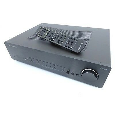 Cambridge Audio Cxa80 Integrated Amplifier With Dac Black Boxed  Warranty