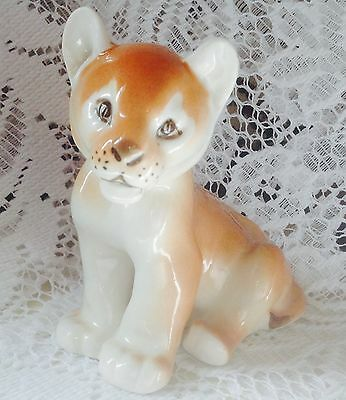 USSR LOMONOSOV Lion Cub Figurine - Perfect