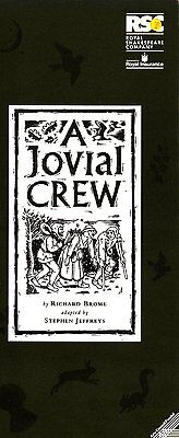 1993  The Pit Theatre Programme - A JOVIAL CREW - EMILY WATSON - BARNABY KAY