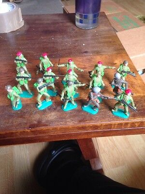 Timpo Toy Soldiers X 15