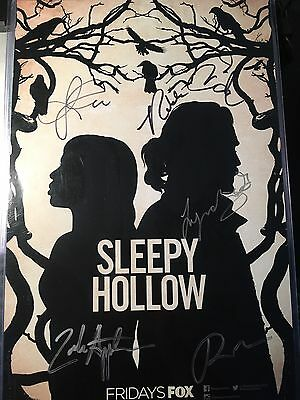 Sleepy Hollow Wondercon Signed