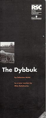 1992  The Pit Theatre Programme - THE DYBBUK - VIRGINIA DENHAM - CHARLES LEWSEN
