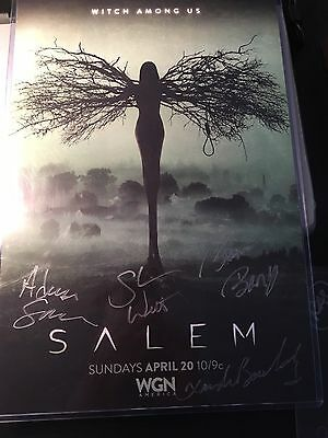 Salem Signed Wondercon Poster