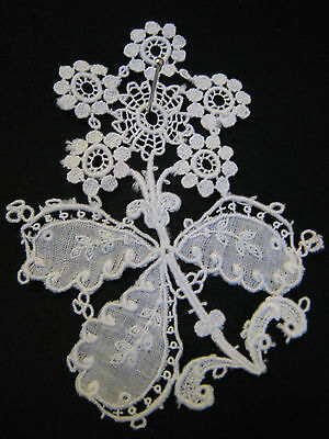 Beautiful Antique Vintage Lace Sample - Ideal for Display or Sewing Projects etc