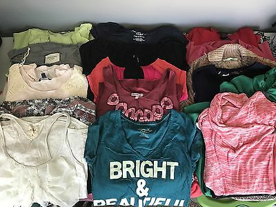 Women's Clothing Lot of 46 Maurices Loft American Eagle Express Size Medium.