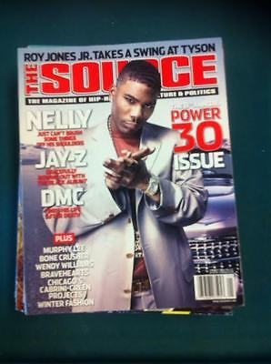 The source magazine with Nelly on the cover,Jan,2003