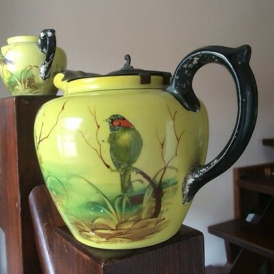 Antique Collectable T'Pot and Jug By H. J. Wood (Ltd) Alexandra